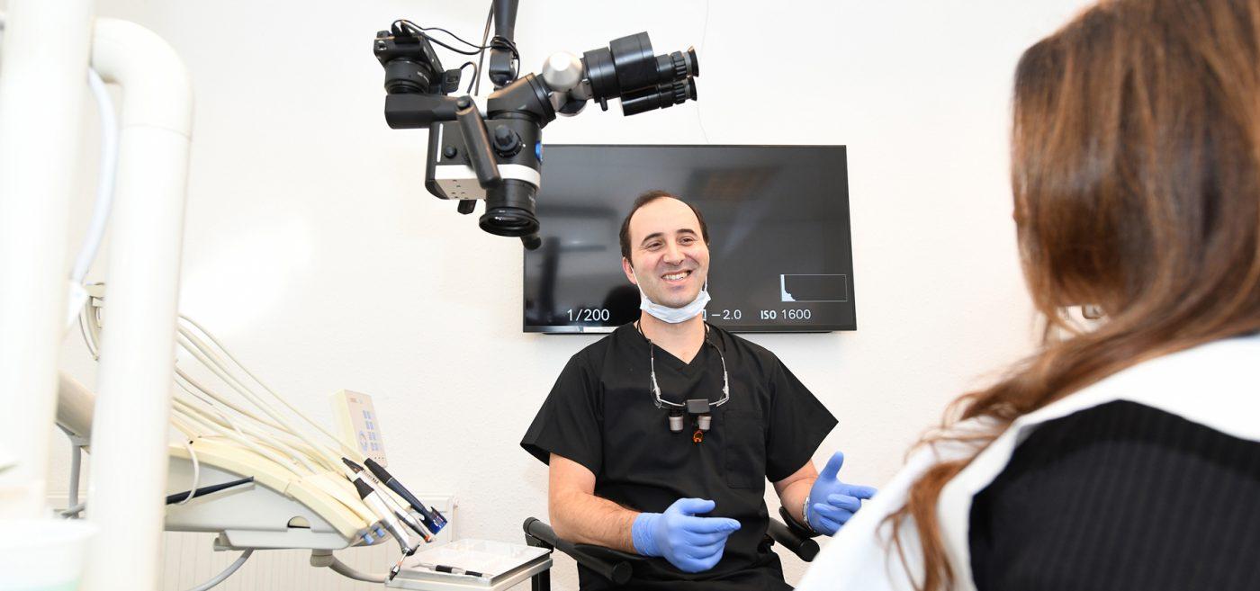 Longwell Green Dentist Patient