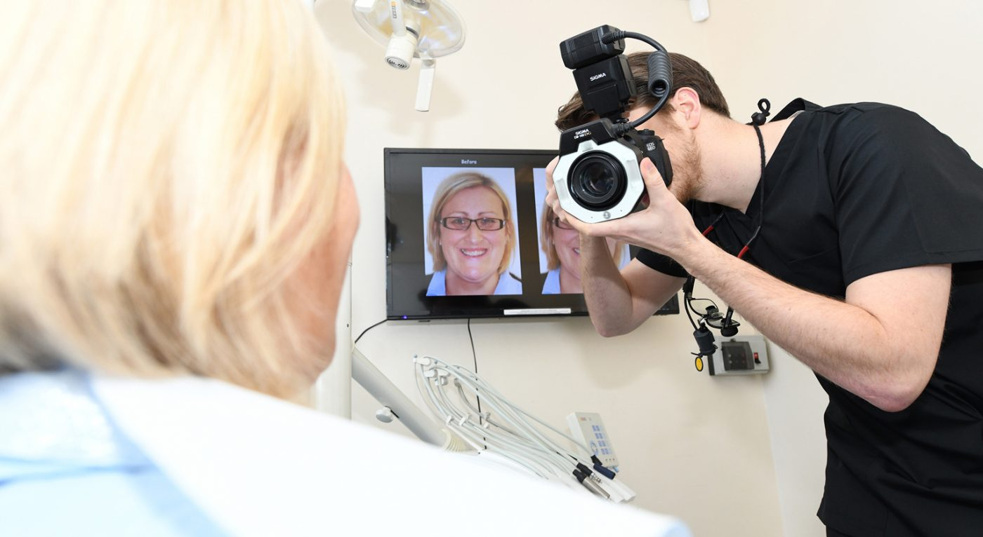Longwell Green Digital Smile Close Up