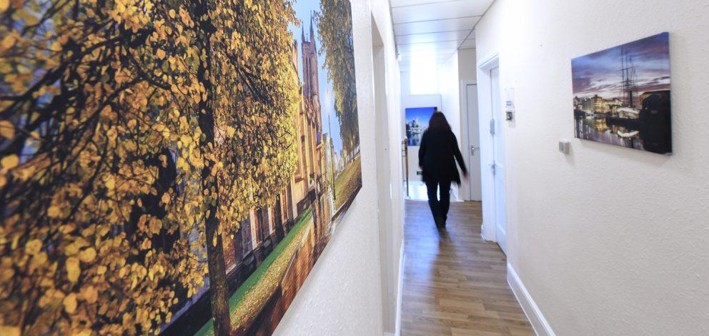 Longwell Green Corridor Retreating