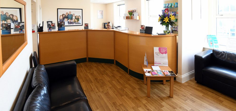 Longwell Green Reception Waiting Room
