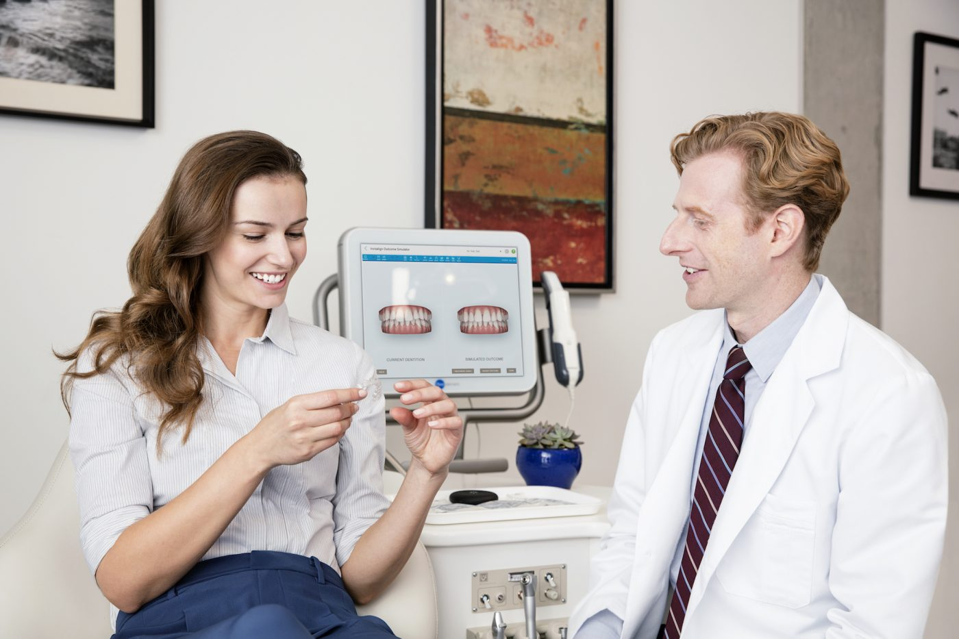 Invisalign Fitting Pittville Lawn Dental Implant Clinic