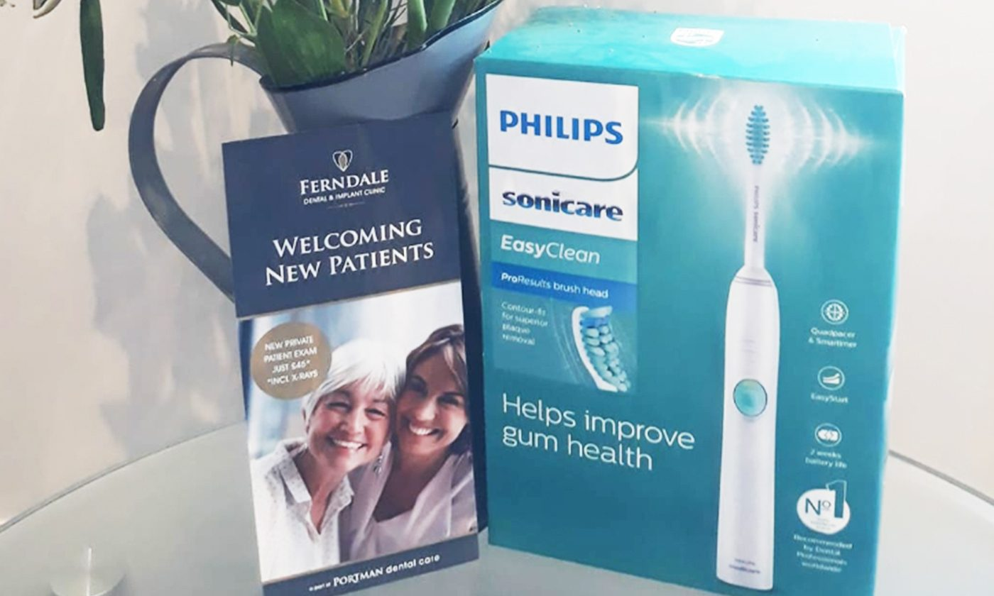 Split Pod Sonicare Brush