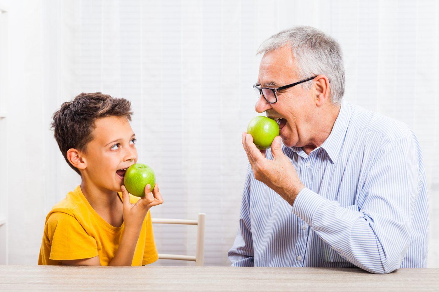Walker Associates Dental Implant Clinic Grandparent And Grandchild