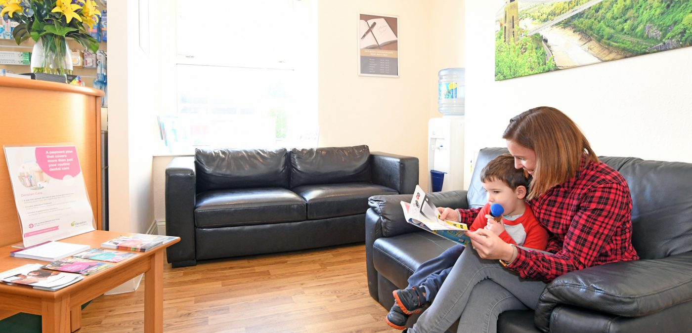Waiting Room With Mum Child Courtrai House Dental Implant Clinic