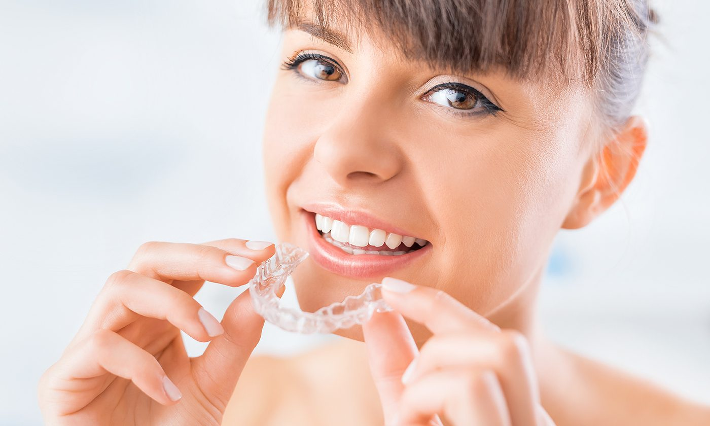 Invisalign woman, Kettering