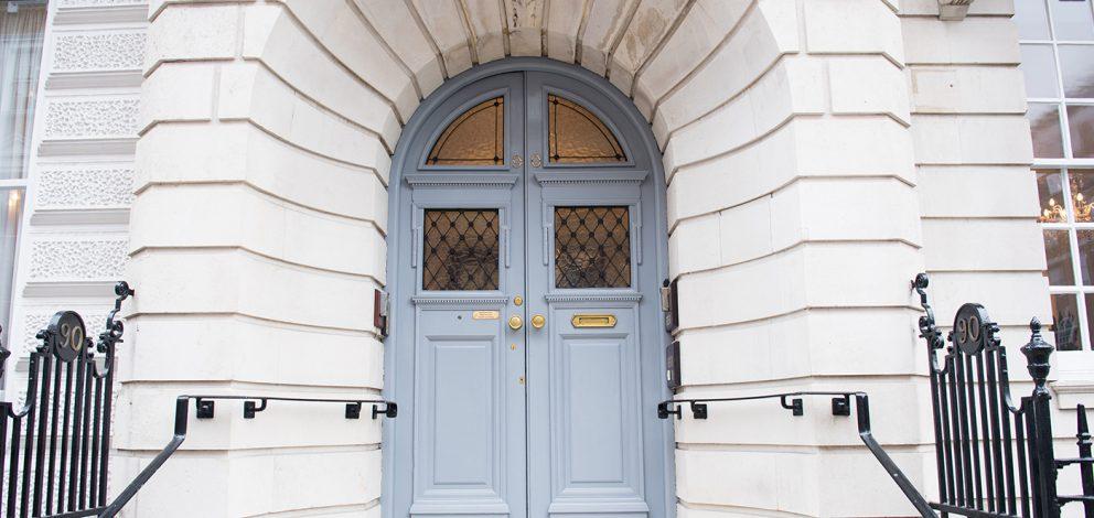 Exterior View Front Door