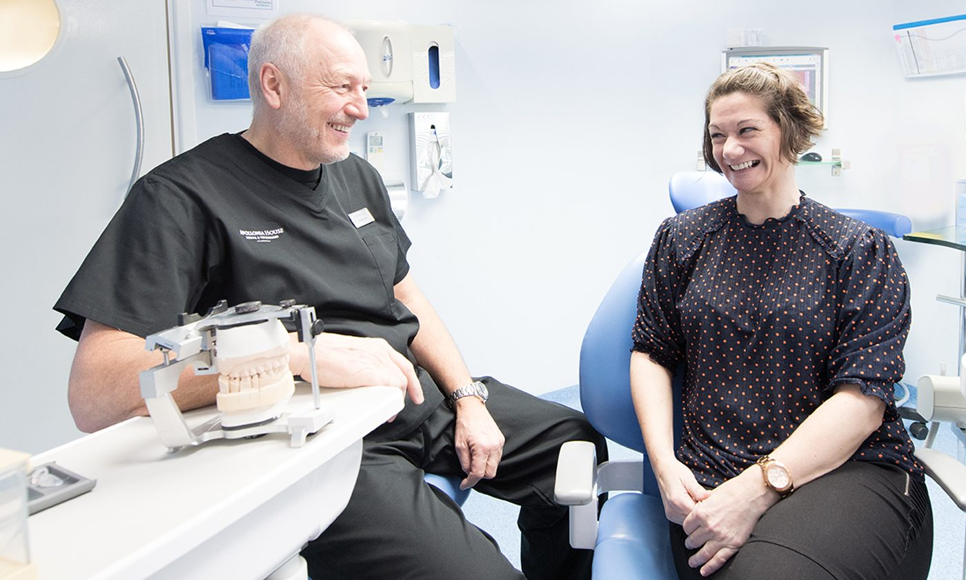 Andy With Patient