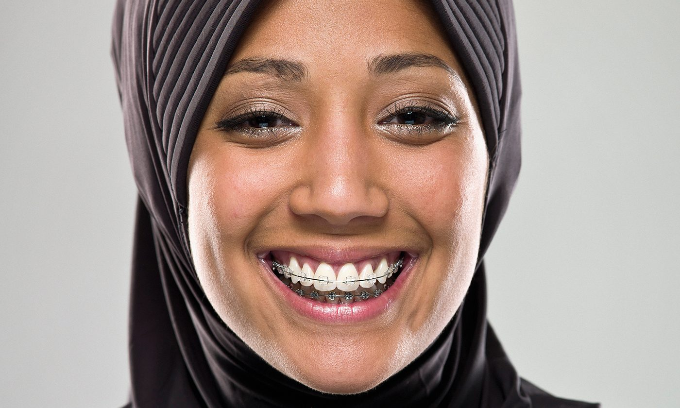 Lady With Headscarf Ortho