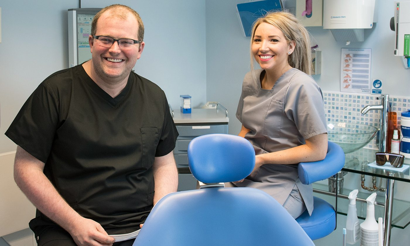 Dentist And Colleague Uppingham Dental Implant Clinic